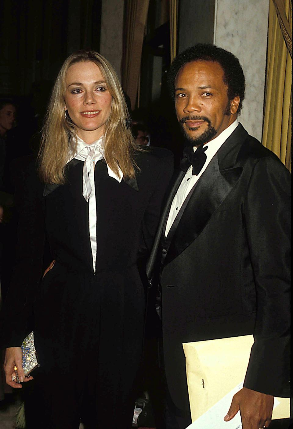Peggy Lipton And Quincy Jones Pictured In 1980. Credit: 1920480Globe Photos/MediaPunch /IPX