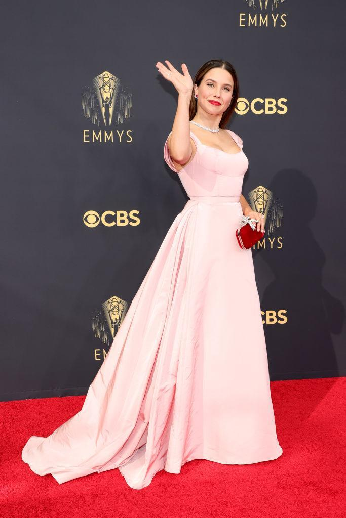 Sophia Bush attends the 73rd Primetime Emmy Awards on Sept. 19 at L.A. LIVE in Los Angeles. (Photo: Rich Fury/Getty Images)