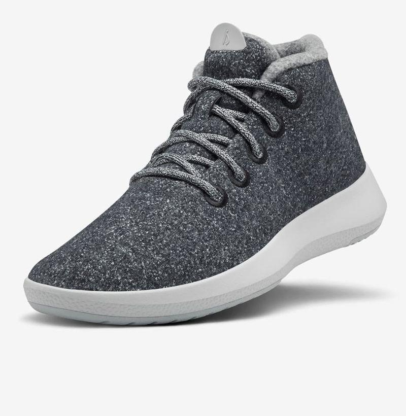 """<p><strong>Allbirds</strong></p><p>allbirds.com</p><p><strong>$135.00</strong></p><p><a href=""""https://go.redirectingat.com?id=74968X1596630&url=https%3A%2F%2Fwww.allbirds.com%2Fproducts%2Fmens-wool-runner-up-mizzles-natural-grey&sref=https%3A%2F%2Fwww.esquire.com%2Fstyle%2Fmens-fashion%2Fg29339512%2Fbest-winter-sneakers%2F"""" rel=""""nofollow noopener"""" target=""""_blank"""" data-ylk=""""slk:Buy"""" class=""""link rapid-noclick-resp"""">Buy</a></p><p>The internet's favorite sneaker brand is back at it again, tweaking its hero product ever so slightly via a water repellent high top style made out of the company's now-signature merino wool. </p>"""