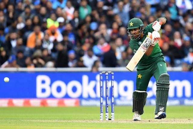 Pakistan captain Sarfaraz Ahmed insists his side can rescue their troubled World Cup campaign (AFP Photo/Dibyangshu SARKAR)