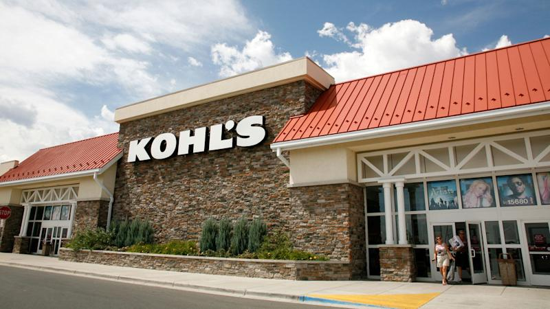 Customers leave the Kohl's store in Westminster, Colorado August 14, 2008.