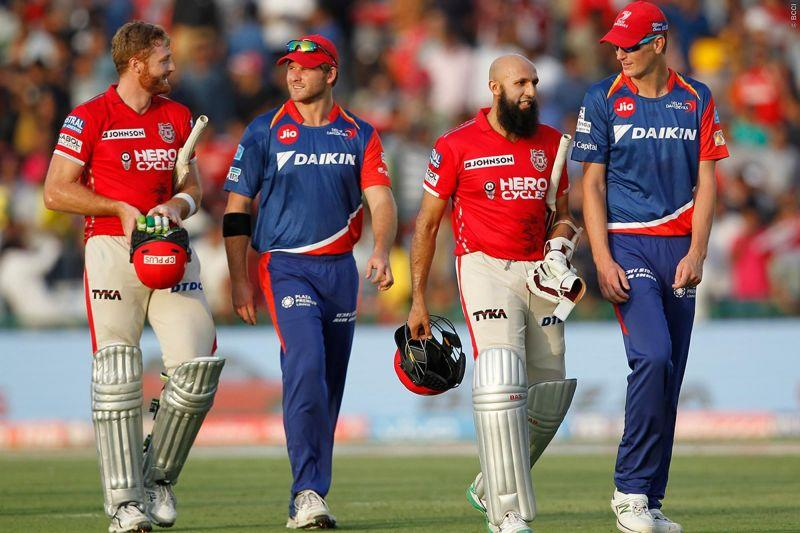Delhi recorded one of their lowest ever totals against KXIP in 2017