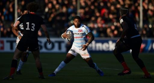 France centre Virimi Vakatawa has scored seven times in 10 games for Racing 92 this season