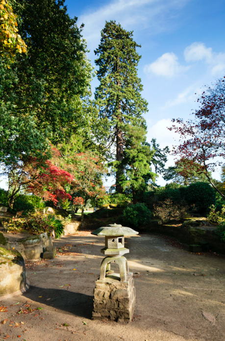 <p>An area of flood plain converted into an intricate area of rocky canyons, woodland dells and water features in around 1910, when Japanese-influenced gardens were highly fashionable. (PA) </p>