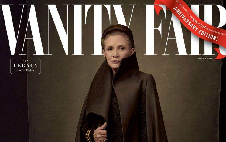 Leia... features on one of four new Vanity Fair covers - Credit: Vanity Fair/Conde Nast