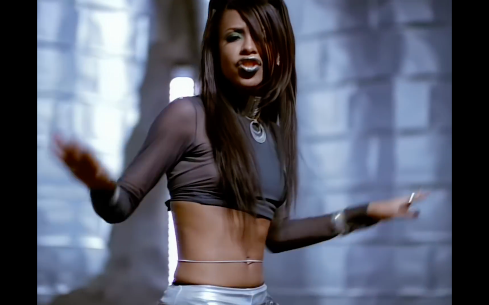 """<cite class=""""credit"""">Screenshot/Youtube. """"Are You That Somebody"""" music video, Aaliyah.</cite>"""
