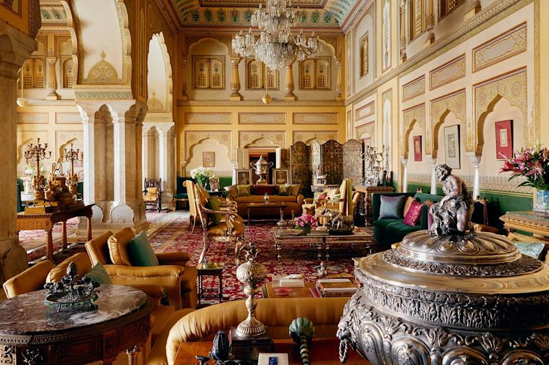 Gudliya Suite at The City Palace - Jaipur. Source: Airbnb