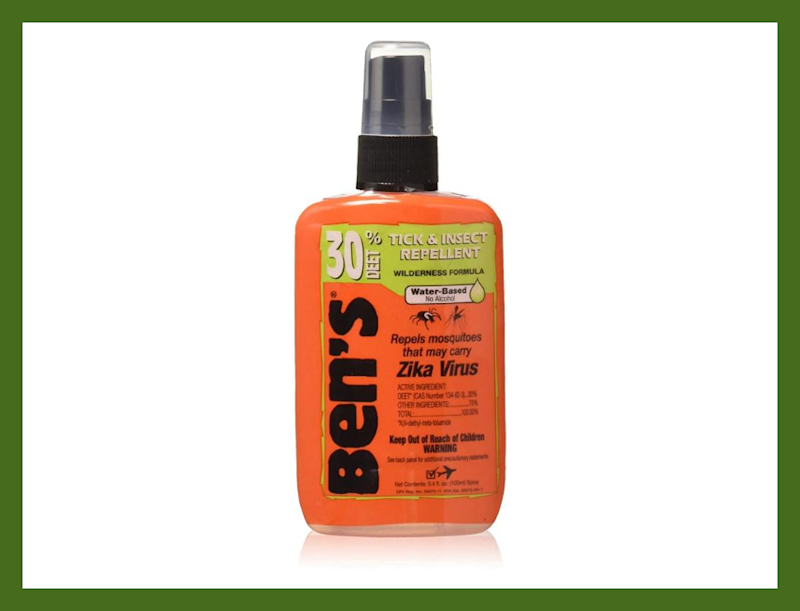 The Ben's 30 percent Deet Insect Repellent Spray three-pack is $30. (Photo: Amazon)