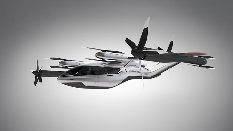 Hyundai's new S-A1 flying taxi