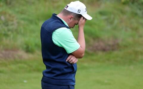 Republic of Ireland's James Sugrue on the 18th during day two of The Open Championship - Credit: PA