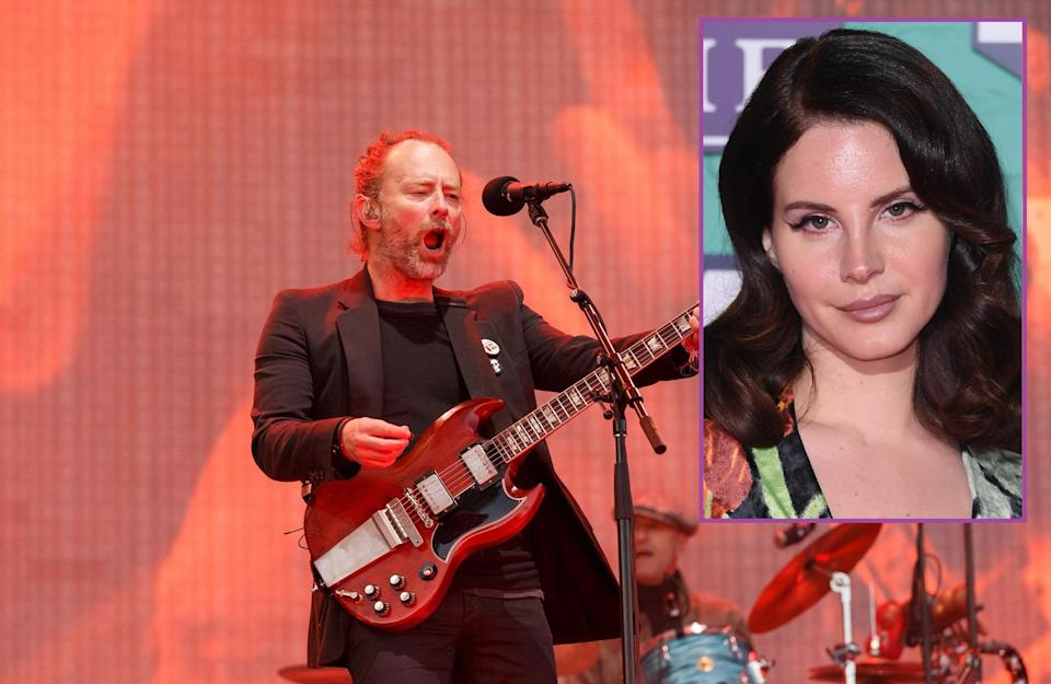 Lana Del Rey claimed that the band were after 100% of production rights. Copyright: [Rex]