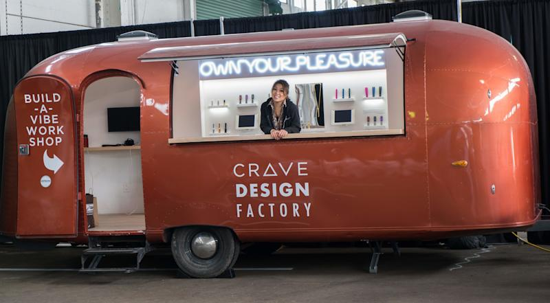Ti Chang and the Crave Design Factory. (Crave)