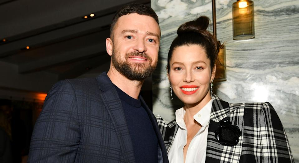 Jessica Biel has opened up about how familiar her and Justin Timberlake's sons are with their work. (Getty Images)