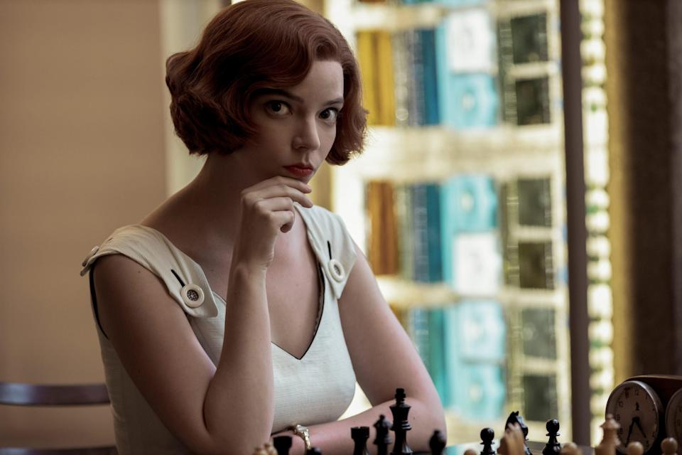 """Anya Taylor-Joy beats the competition as chess prodigy Beth Harmon in Netflix's """"The Queen's Gambit."""""""