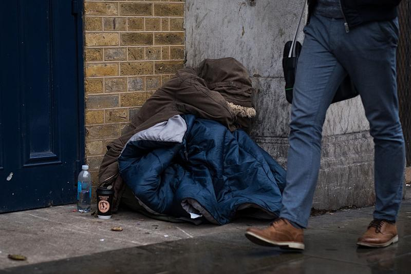Since May 2016 the Home Office has the right to deport any Eastern European rough sleepers: Getty