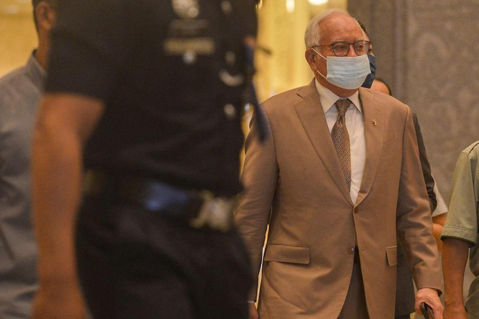 Najib's trial was previously scheduled to be heard on July 5 to July 8, July 12 to July 15, July 26 to July 29, as well as August 2 to 5 and August 9 to August 10. — Picture by Miera Zulyana