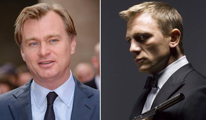 Is Christopher Nolan working on the next Bond movie? (Credit: Joe/WENN, MGM-UA/Sony)