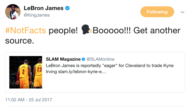 Maybe LeBron James isn't so