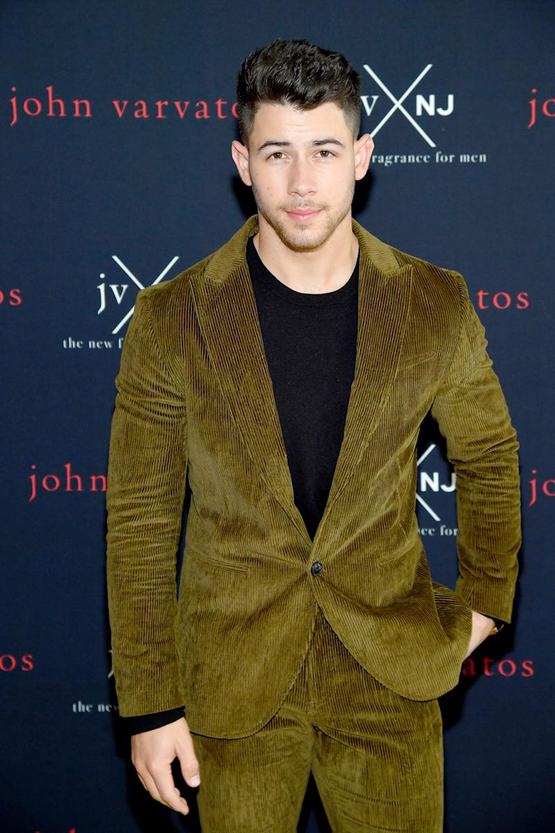 Nick Jonas has had the busiest year of his life, and he's not ready to slow down. (Photo: Getty Images)