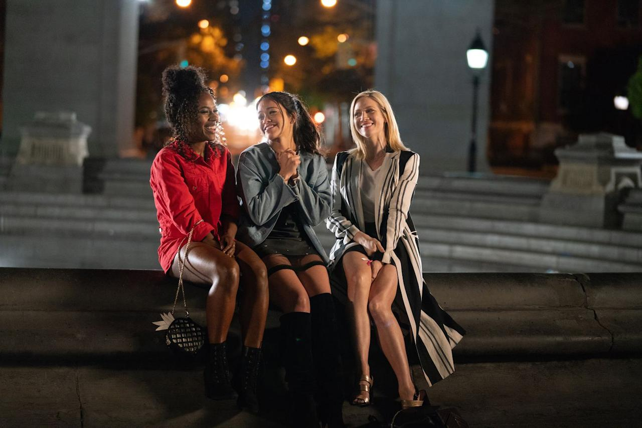 "<p>Get the summer feel-good vibes going with a good ol' rom-com. <em>Someone Great </em>on Netflix is the ideal Memorial Day weekend watch: Girl power (thanks to the trio of <a href=""https://www.elle.com/culture/movies-tv/a26690647/gina-rodriguez-interview-someone-great-jane-the-virgin/"" target=""_blank"">Gina Rodriguez</a>, Brittany Snow, and DeWanda Wise), a soundtrack with plenty of Lizzo, and empowering messages about break-ups and hook-ups. Plus, it clocks in at a tidy 92 minutes, leaving plenty of time for other holiday activities. <em>-Ariana Yaptangco, Social Media Editor</em></p><p><a class=""body-btn-link"" href=""https://www.netflix.com/signup"" target=""_blank"">START YOUR FREE NETFLIX TRIAL NOW</a></p>"