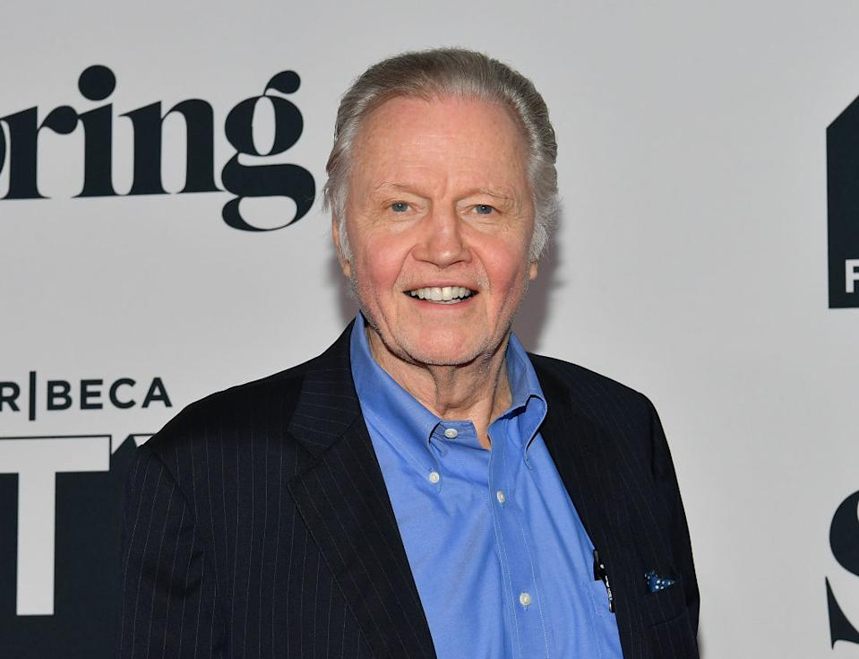 """Jon Voight promotes """"Ray Donovan"""" at the 2018 Tribeca TV Festival on Sept. 23, 2018, in New York City. (Photo: Dia Dipasupil/Getty Images)"""