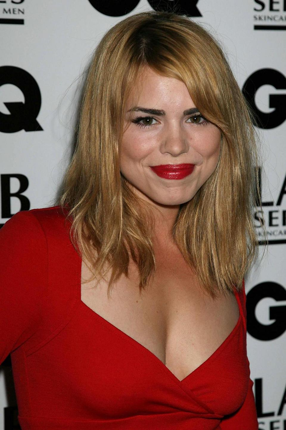 Billie Piper arrives for the GQ Men of the Year Awards 2006 at the Royal Opera House, Covent garden, central London. (Photo by Philip Allport - PA Images/PA Images via Getty Images)