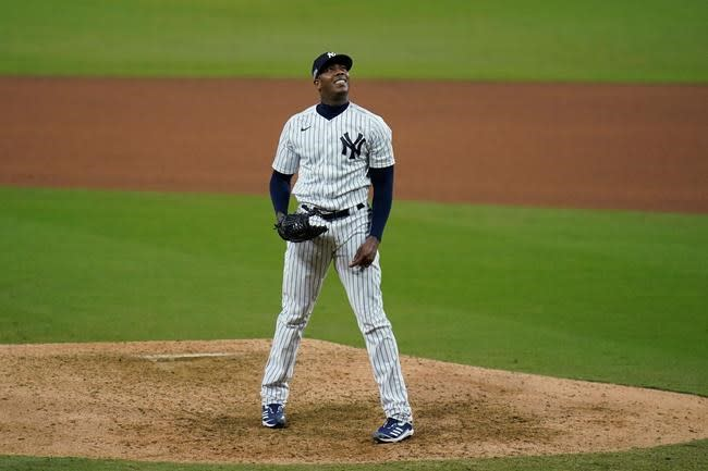Voit, Torres homer as Yankees beat Rays 5-1 to force Game 5