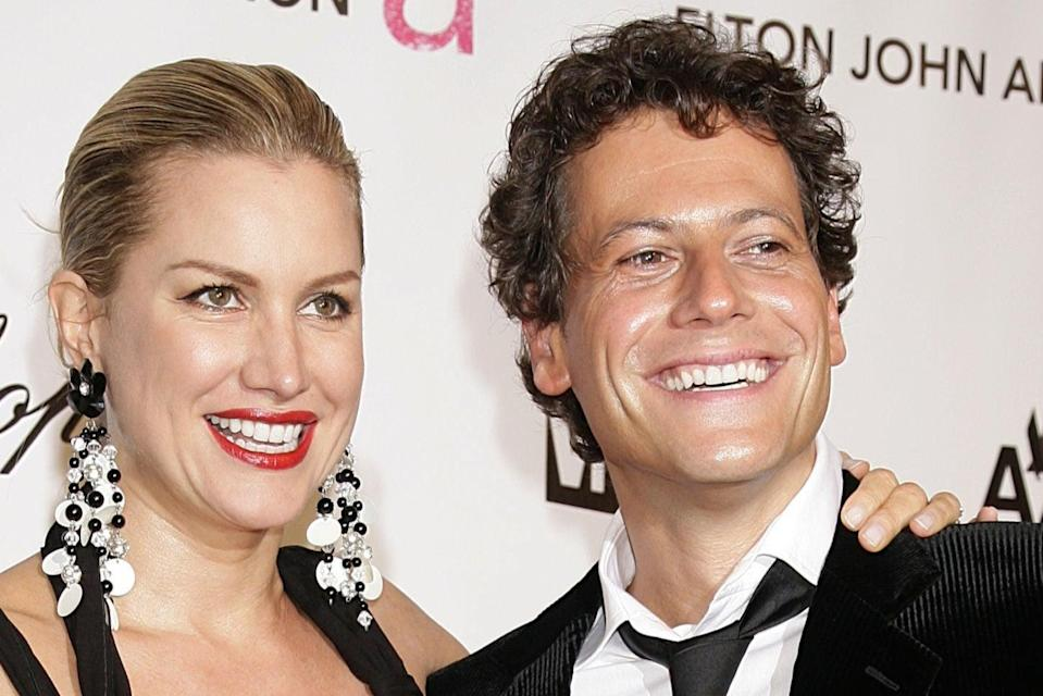 <p>Gruffudd has filed for divorce from Evans after 13 years married</p> (PA)