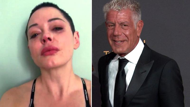 Anthony Bourdain Dead at 61: Rose McGowan Fights Tears as She Opens Up About Celebrity Chef's Death