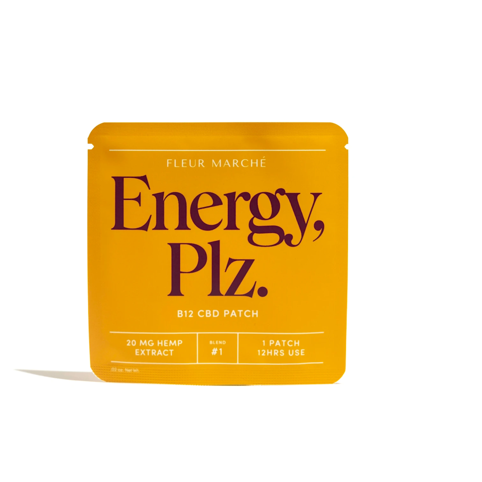 "<h3>Fleur Marche Energy, Plz. CBD Patch</h3><br>Instead of coffee, try this patch infused with B12, vitamin D, and CBD for a morning boost of energy. <br><br><strong>Fleur Marche</strong> Energy, Plz. Patch, $, available at <a href=""https://go.skimresources.com/?id=30283X879131&url=https%3A%2F%2Ffleurmarche.com%2Fproducts%2Fenergy-patch"" rel=""nofollow noopener"" target=""_blank"" data-ylk=""slk:Fleur Marche"" class=""link rapid-noclick-resp"">Fleur Marche</a>"