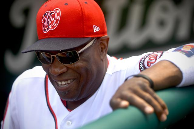 Dusty Baker is back in the game after being hired to replace AJ Hinch as the Astros manager. (Photo by Katherine Frey/The Washington Post via Getty Images)