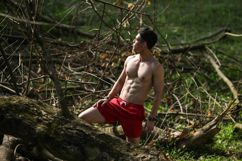 Yahoo #Fitspo of the Week: Aaron Mossadeg (PHOTO: Cheryl Tay)