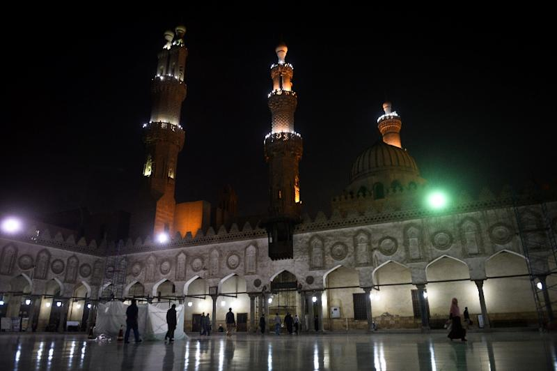 The Cairo-based top Muslim body Al-Azhar, Al-Azhar mosque seen here on December 20, 2014, condemns the executions of some 30 Ethiopian Christians captured in Libya by the Islamic State