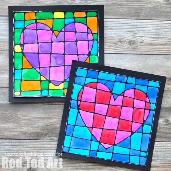 """<p>Put a creative spin on Mother's Day heart motifs with a fun checkerboard pattern. </p><p><strong>Get the tutorial at <a href=""""https://www.redtedart.com/black-glue-heart-art-project/"""" rel=""""nofollow noopener"""" target=""""_blank"""" data-ylk=""""slk:Red Ted Art"""" class=""""link rapid-noclick-resp"""">Red Ted Art</a>. </strong></p><p><strong><a class=""""link rapid-noclick-resp"""" href=""""https://www.amazon.com/Arches-Watercolor-Paper-pound-Press/dp/B01EQHJH10/?tag=syn-yahoo-20&ascsubtag=%5Bartid%7C10050.g.4233%5Bsrc%7Cyahoo-us"""" rel=""""nofollow noopener"""" target=""""_blank"""" data-ylk=""""slk:SHOP WATERCOLOR PAPER"""">SHOP WATERCOLOR PAPER</a><br></strong></p>"""