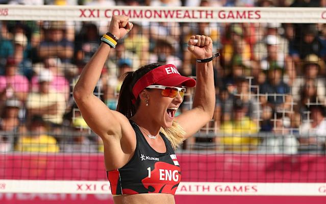 Beach volleyball will return after success at the Gold Coast two years ago. (Credit: Getty Images)