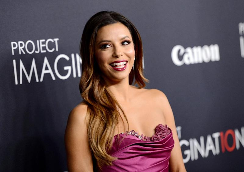 """FILE - In this Oct. 24, 2013 file photo, actress Eva Longoria attends the global premiere of Canon's """"Project Imaginat10n"""" Film Festival at Alice Tully Hall, in New York. NBC announced on Tuesday, April 8, 2014, it's launching a national talent search for comedy writers with an initiative, dubbed """"NBC Comedy Playground,"""" that will give up to 10 finalists the chance to create pilots and a formal presentation. The top two ideas will be picked by a celebrity advisory board including Longoria, Sean Hayes, Mindy Kaling and Seth Meyers. (Photo by Evan Agostini/Invision/AP, File)"""