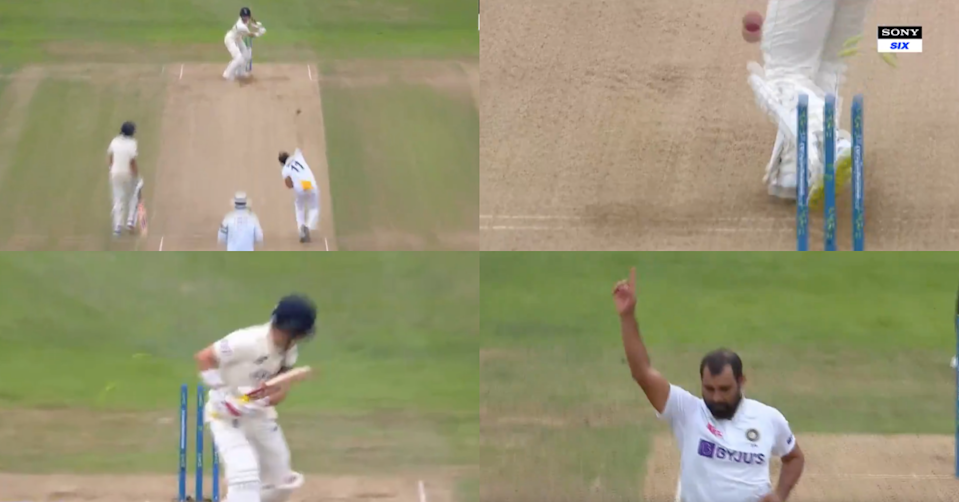 Watch: Mohammad Shami Castles Rory Burns With A Beautiful Delivery On Day 2 Of Headingley Test