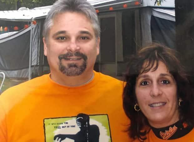Darryl and Michele Preissler of Pasadena, Md. Darryl died of COVID-19 in May. His wife, Michele, says she thinks if he had been vaccinated, he may not have succumbed to the illness. (Submitted by Michele Preissler - image credit)