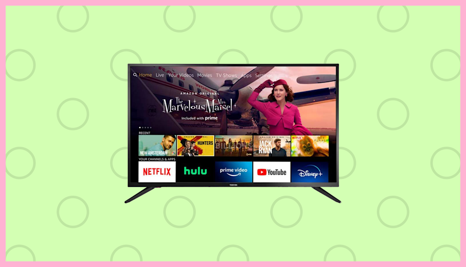 Save $60 on this Toshiba 32-inch Smart HD TV—Fire TV Edition. (Photo: Amazon)