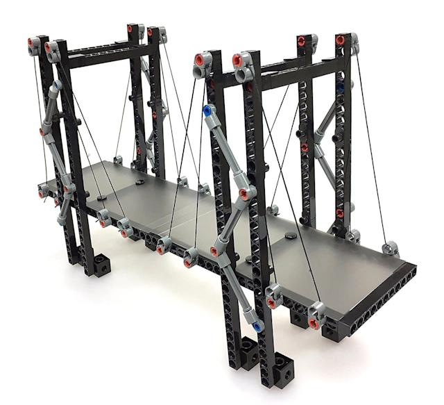 If your child ever wondered how bridges and skyscrapers are built, get them this <span>structural engineering set</span> that applies both mathematics and the sciences.