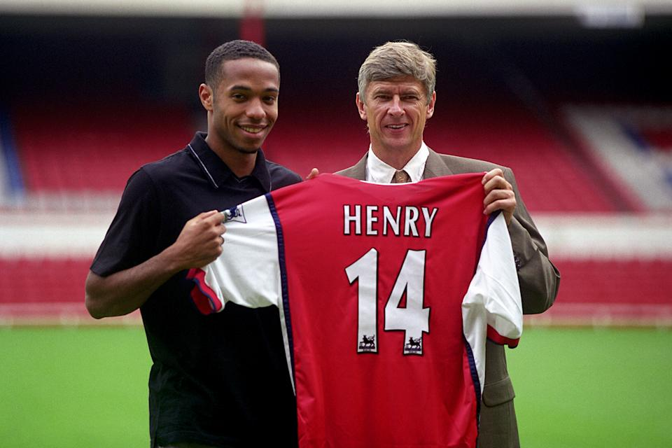 Henry went on to become an Arsenal legend despite a slow start. (Photo by Mike Egerton/EMPICS via Getty Images)