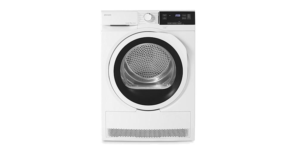 John Lewis & Partners Heat Pump Tumble Dryer, 8kg