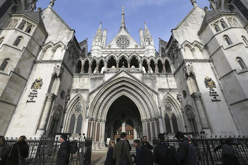 Family court: The family division of the High Court heard that a baby boy was given alcohol by his parents: AP