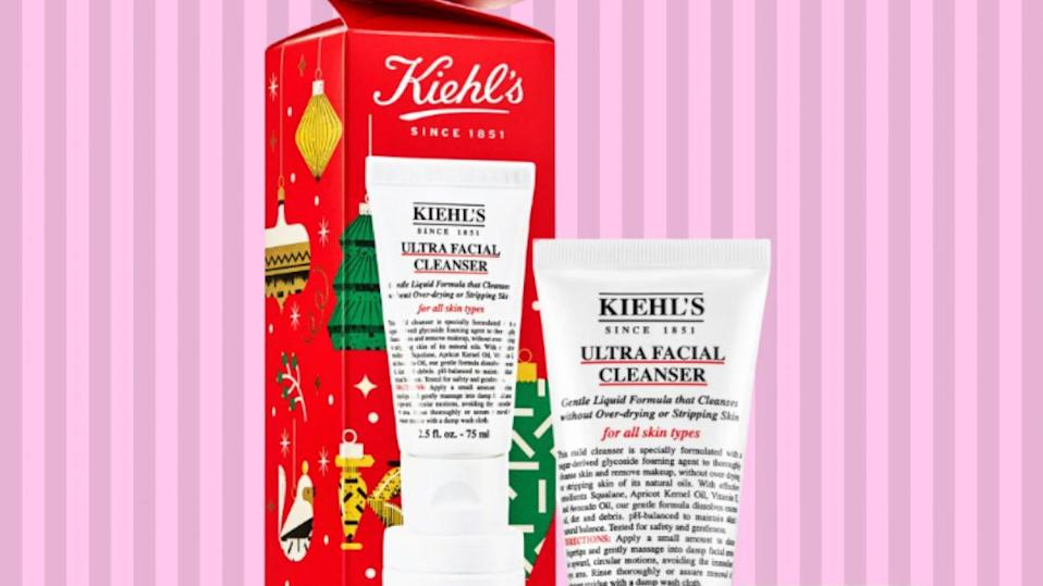 Kiehl's hydration skincare set