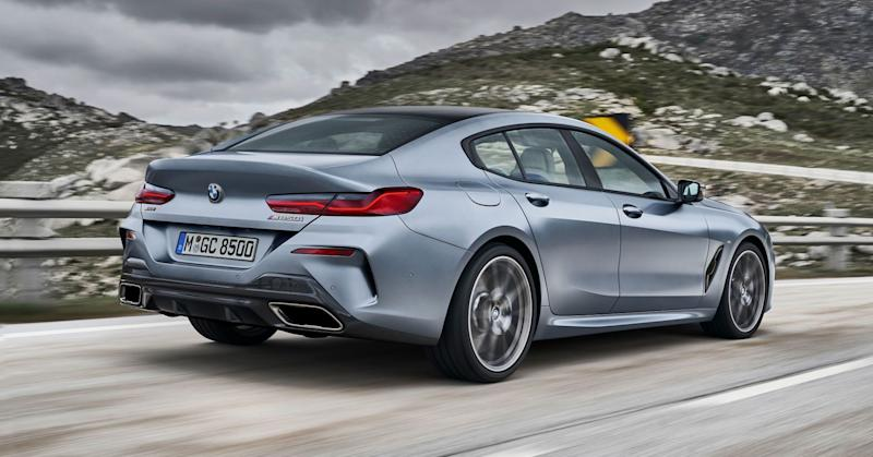 For those who want more power, the new Gran Coupe comes with a brutish, 523-horsepower twin-turbo V-8.