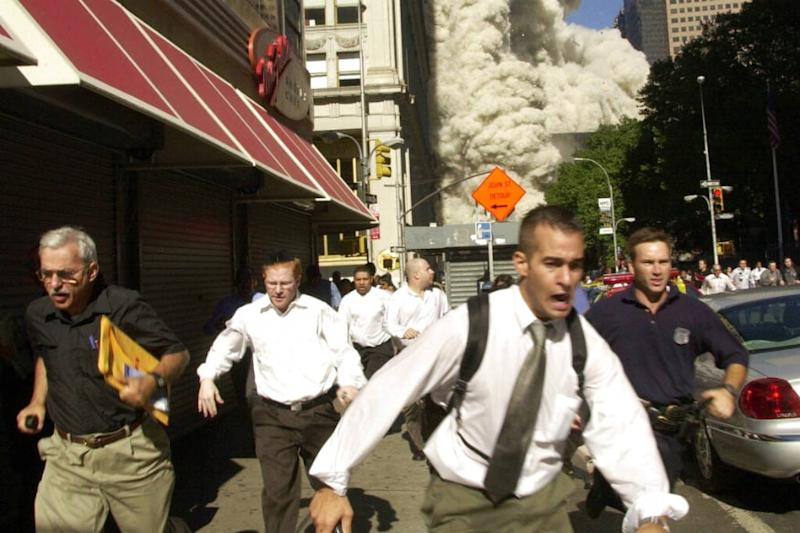 Man Clicked Fleeing Smoke, Debris in Iconic 9/11 Photo Dies from Covid-19 in Florida