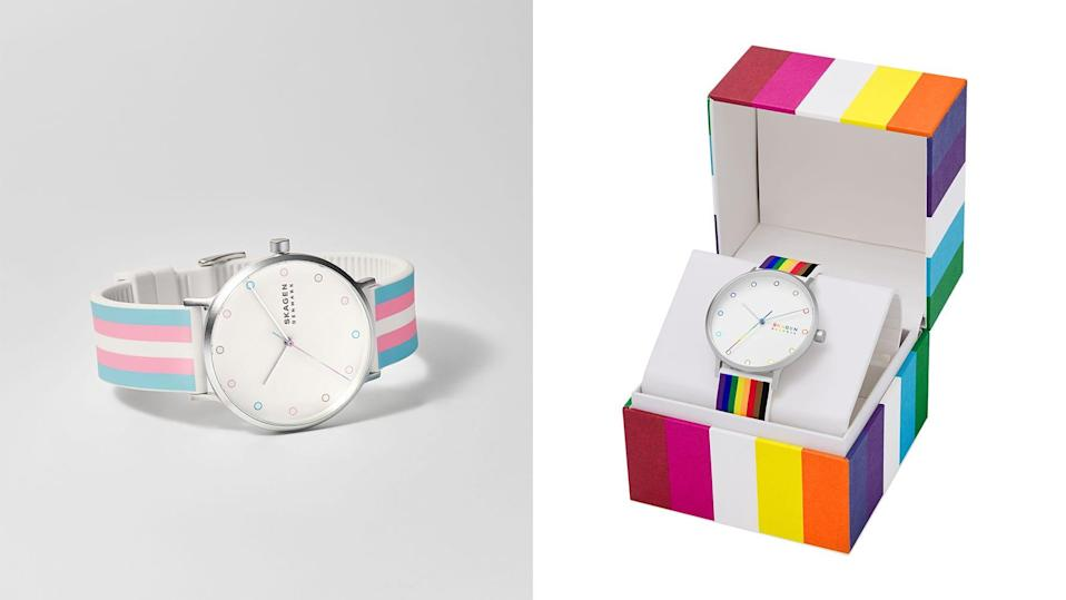 Skagen is donating $25,000 to InterPride this year as part of Pride 2021.