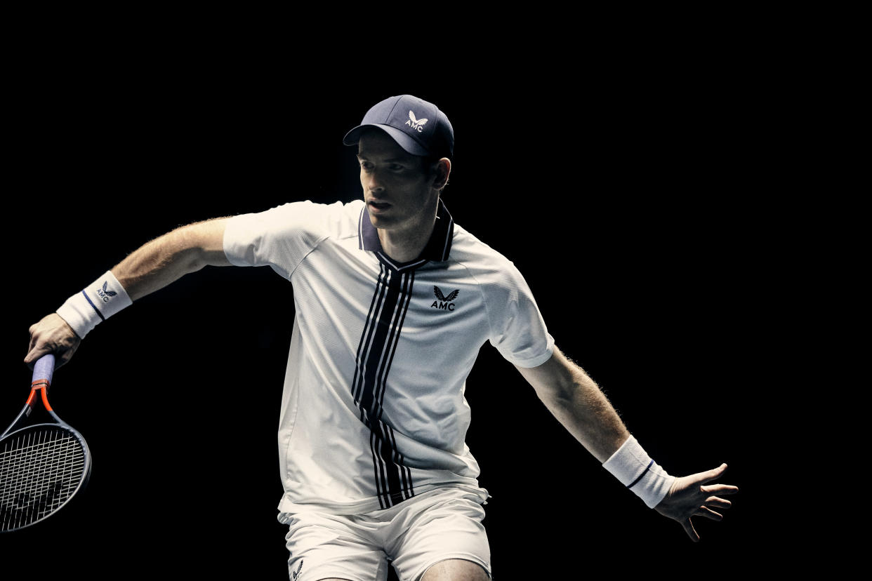 Andy Murray is hoping to be back in action soon