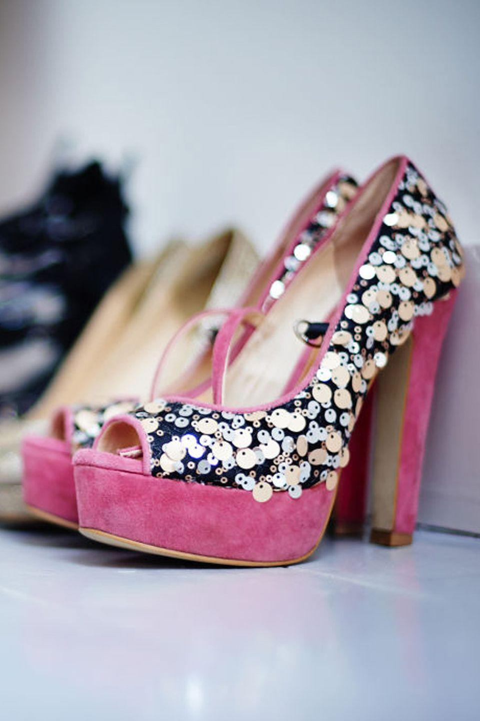 "<p>They may be cute, but, boy, do they hurt. Organize a clothing swap with friends to see if there's a Cinderella who doesn't find peep-toe platforms torturous. And no, you're not imagining things if you find many styles of <a href=""https://www.goodhousekeeping.com/beauty/fashion/news/a35858/why-flats-bad-for-your-feet/"" rel=""nofollow noopener"" target=""_blank"" data-ylk=""slk:flats to be just as bad"" class=""link rapid-noclick-resp"">flats to be just as bad</a>.</p>"