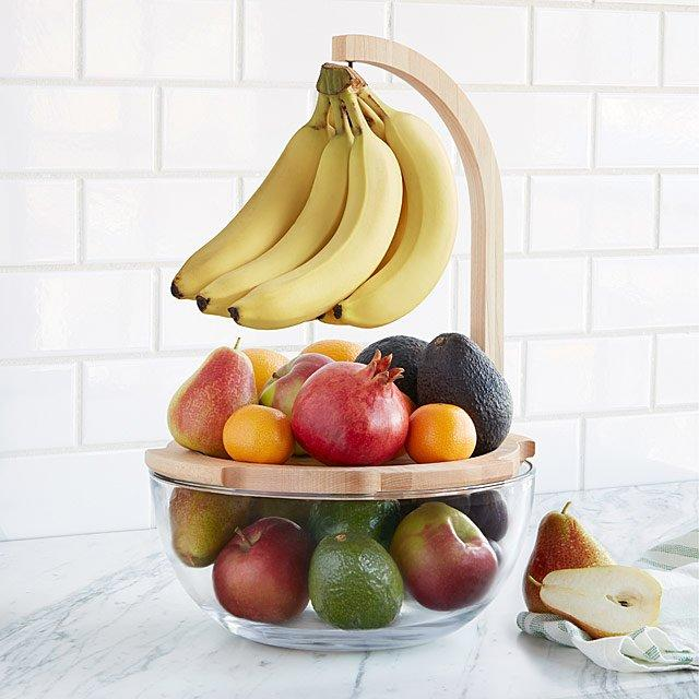 This fruit bowl is totally stacked. (Photo: Uncommon Goods)